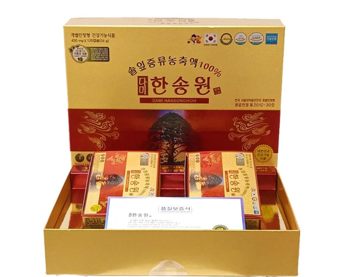 Tinh dầu thông đỏ Dami Hansongwon cao cấp 2