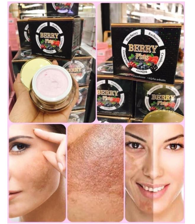 Kem hỗ trợ dưỡng trắng, giảm nám Berry Plus Extra Whitening Cream Thái Lan 2