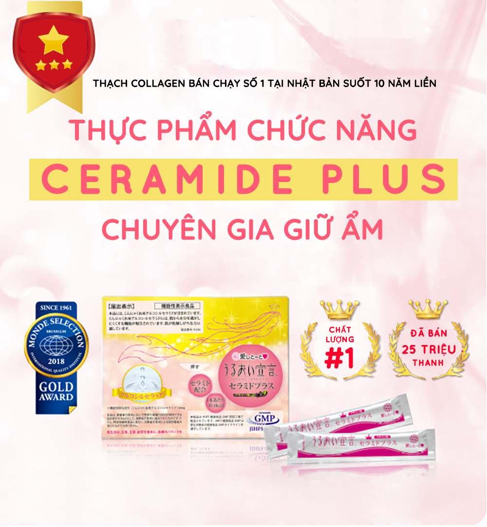 Thạch Collagen Aishitoto Collagen Jelly Ceramide Plus 1