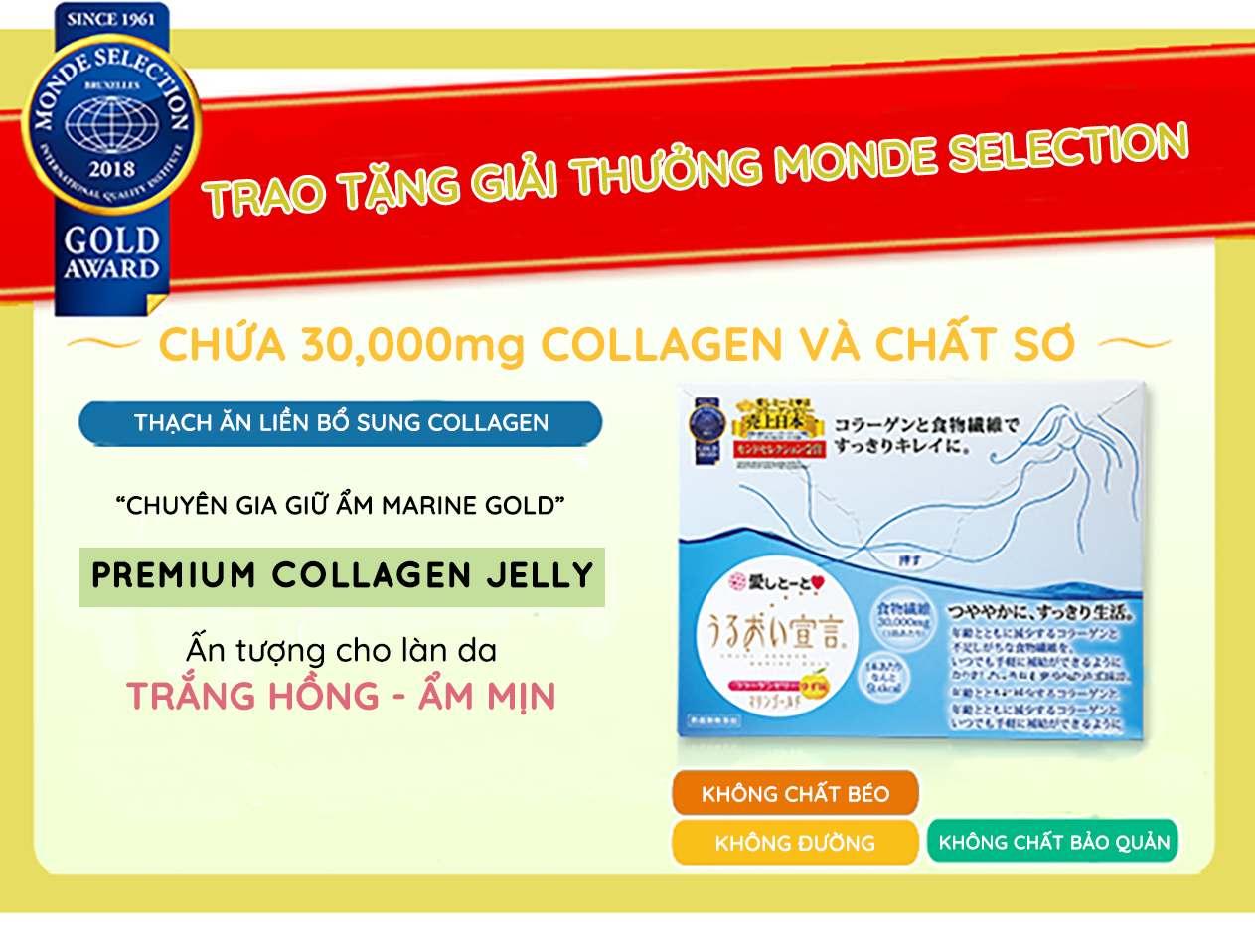 Thạch Collagen Cao Cấp Aishitoto Collagen Jelly Premium 1