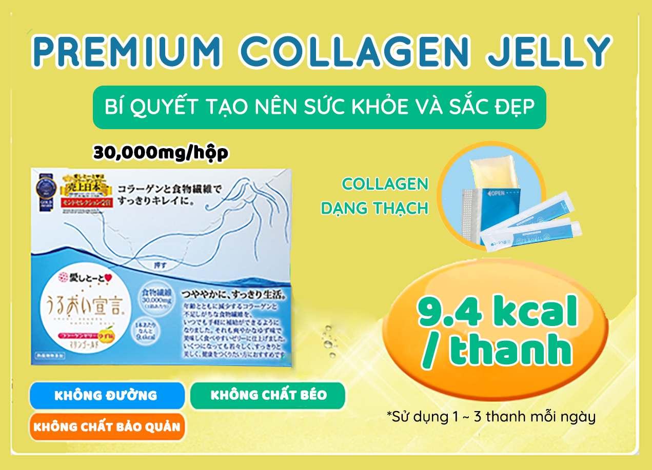 Thạch Collagen Cao Cấp Aishitoto Collagen Jelly Premium 2