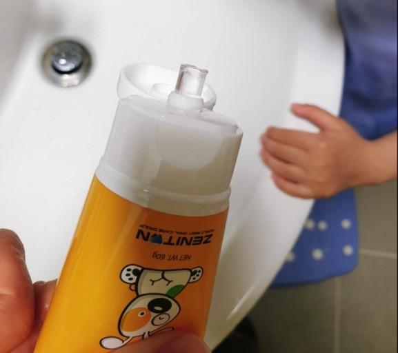 Kem đánh răng cho bé Không Flouride DrZenni dưới 2 tuổi 4