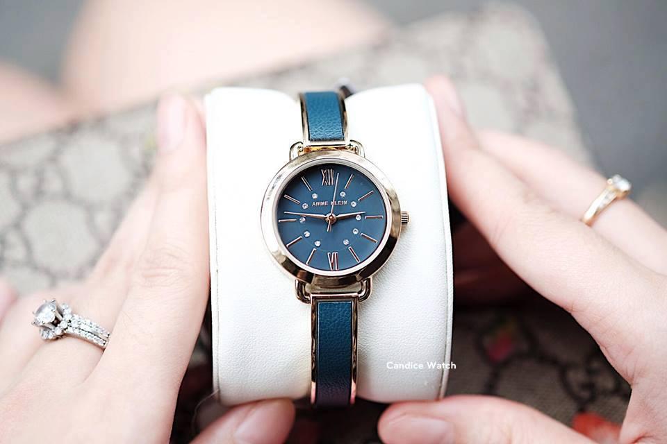 Đồng hồ Anne Klein Women's AK/2436BLGB Gold-Tone and Blue 30mm 1