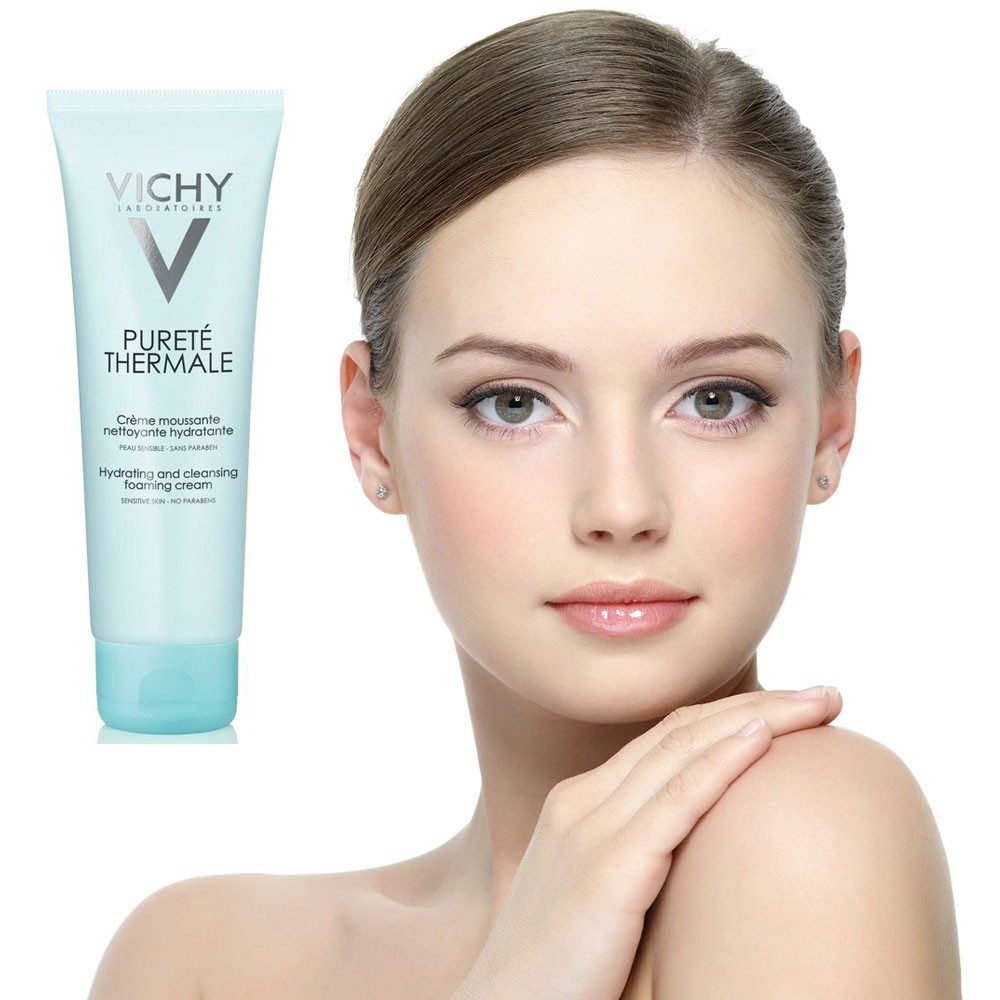 Sữa Rửa Mặt Tạo Bọt Dạng Kem Vichy 125ml 2