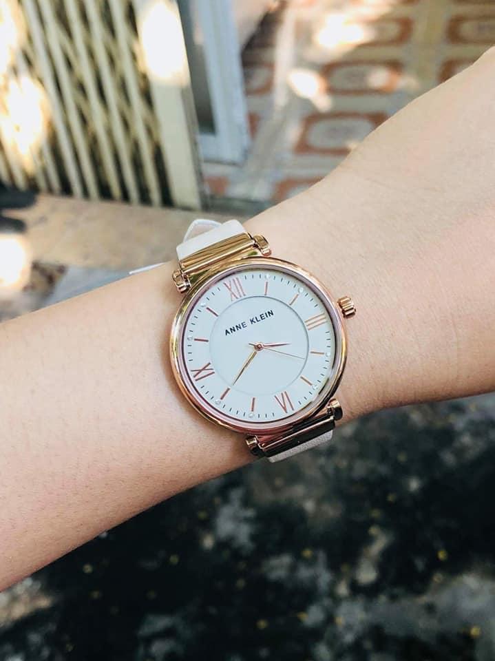 Đồng hồ Nữ Anne Klein AK/2666RGIV case 36mm 3