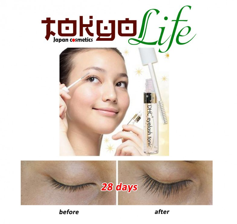 Serum dưỡng dài,cong mi DHC Eyelash Tonic - Nhật Bản 1