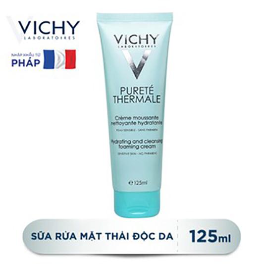 Sữa Rửa Mặt Tạo Bọt Dạng Kem Vichy 125ml 1