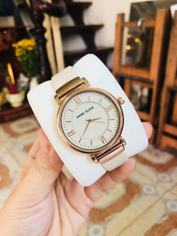 Đồng hồ Nữ Anne Klein AK/2666RGIV case 36mm 1
