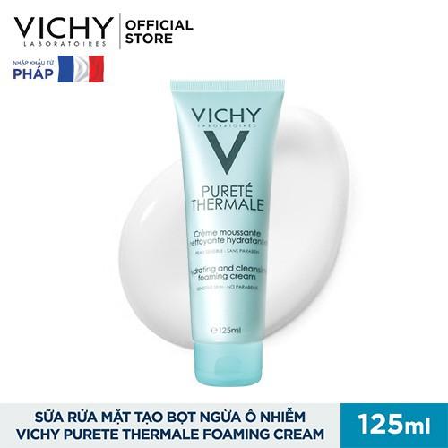 Sữa Rửa Mặt Tạo Bọt Dạng Kem Vichy 125ml 3